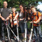 Fem til Danmark med sparkesykkel