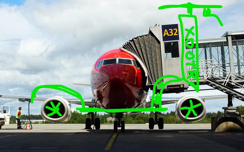 Xootr Sparkesykkel til Oslo Lufthavn